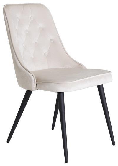 Velvet Lyx matstol beige