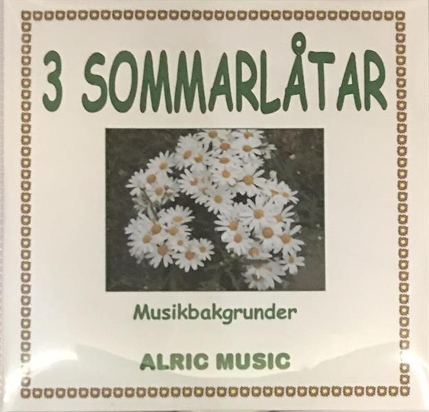 3 SOMMARLÅTAR  CD