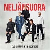 NELJÄNSUORA: SUURIMMAT HITIT 2003-2016 2CD