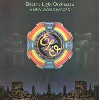 ELECTRIC LIGHT ORCHESTRA: A NEW WORLD RECORD LP