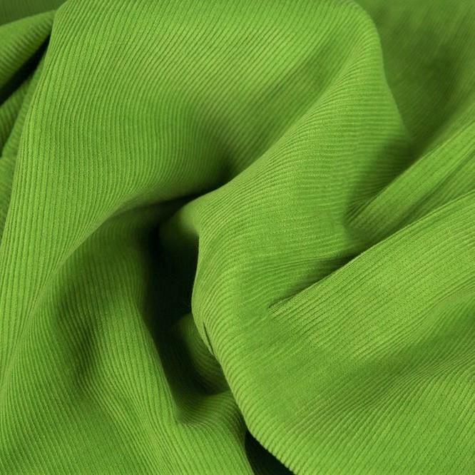 Fine Corduroy Plain, light green