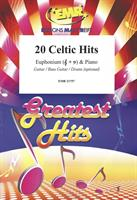 20 CELTIC HITS for EUPHONIUM & PIANO