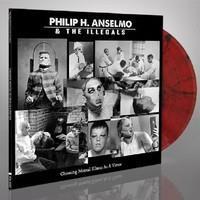 ANSELMO PHILIP H. & THE ILLEGALS: CHOOSING MENTAL ILLNES AS A VIRTUE-RED/BLACK LP