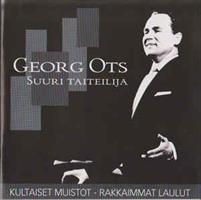 OTS GEORGE: MUSIIKIN MESTARIT-KULTAISET MUISTOT-KÄYTETTY 2CD