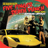 FIVE FINGER DEATH PUNCH: AMERICAN CAPITALIST-DELUXE CD