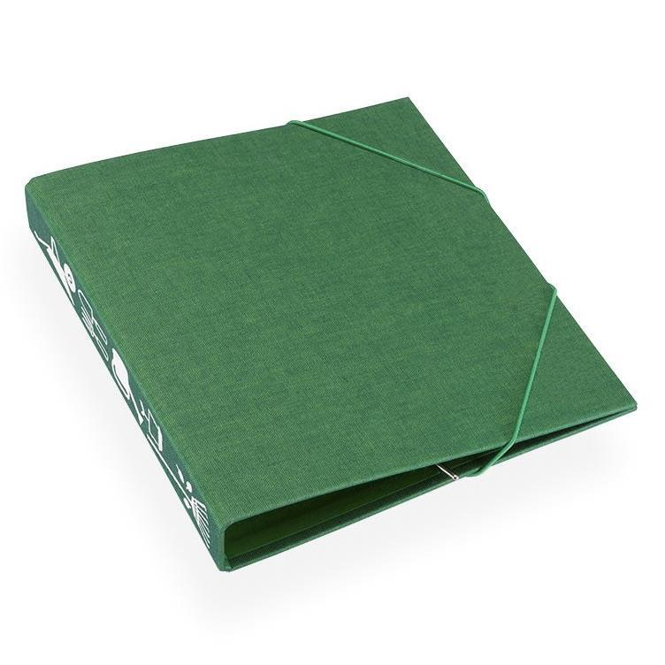 Hageperm 170x200 Duo Grønn med motiv