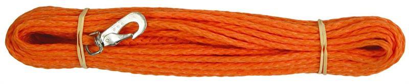 Sporline flettet tau Orange 15m 8mm