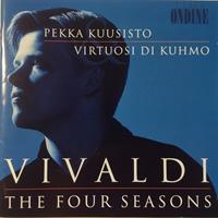 KUUSISTO PEKKA: VIVALDI-FOUR SEASONS-KÄYTETTY CD