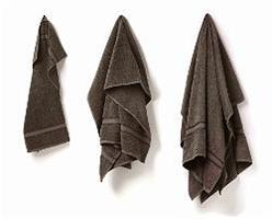 Duschhandduk grå 70 X 140 cm
