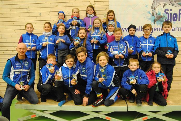 Klubben fortsetter å vokse - 22 blåjakker til start i Ballangen