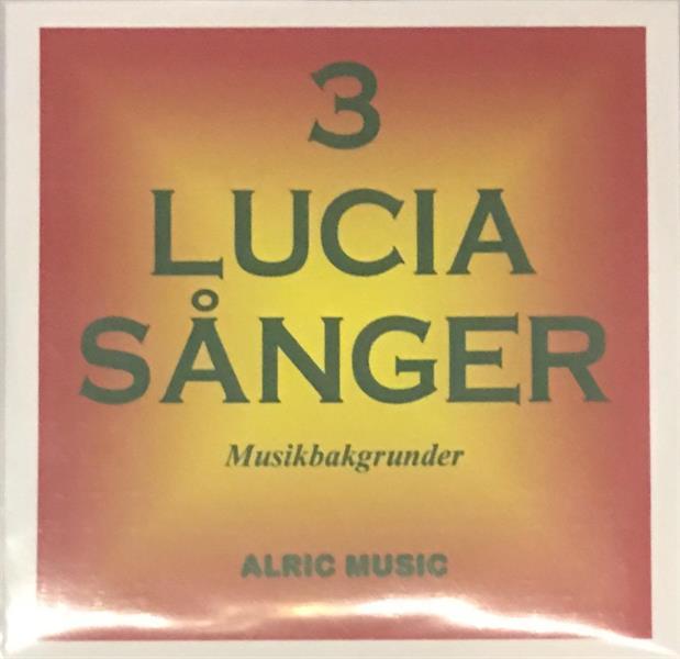 3 LUCIASÅNGER  -  CD