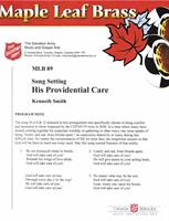 HIS PROVIDENTIAL CARE