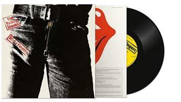 ROLLING STONES: STICKY FINGERS-HALF-SPEED MASTERED LP
