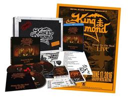KING DIAMOND: SONGS FOR THE DEAD-LIVE-LIMITED BOX SET 2CD+2DVD+BLURAY