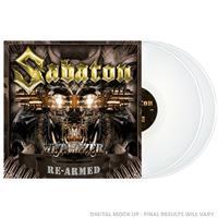 SABATON: METALIZER RE-ARMED-WHITE 2LP