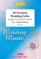 20 GREATEST WEDDING SOLOS - TRUMPET/CORNET & PIANO