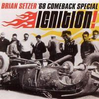 SETZER BRIAN: IGNITION! - YELLOW TRANSPARENT LP