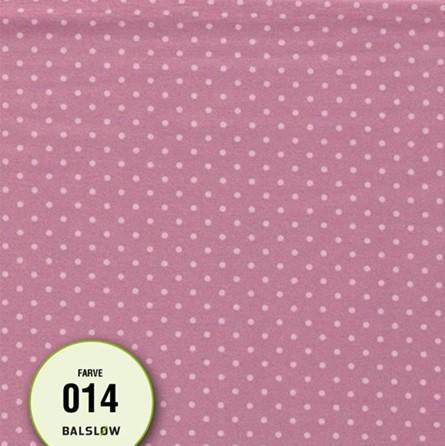 Jersey m/prikker rosa
