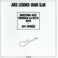 LESKINEN JUICE GRAND SLAM: BOOGIETEORIAN ALKEET PERUSKOULUN...