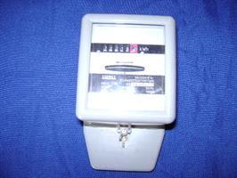 Kwh mittari 1-vaihe tarkastettu B-osa
