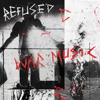 REFUSED: WAR MUSIC-LTD. BRIGHT RED LP