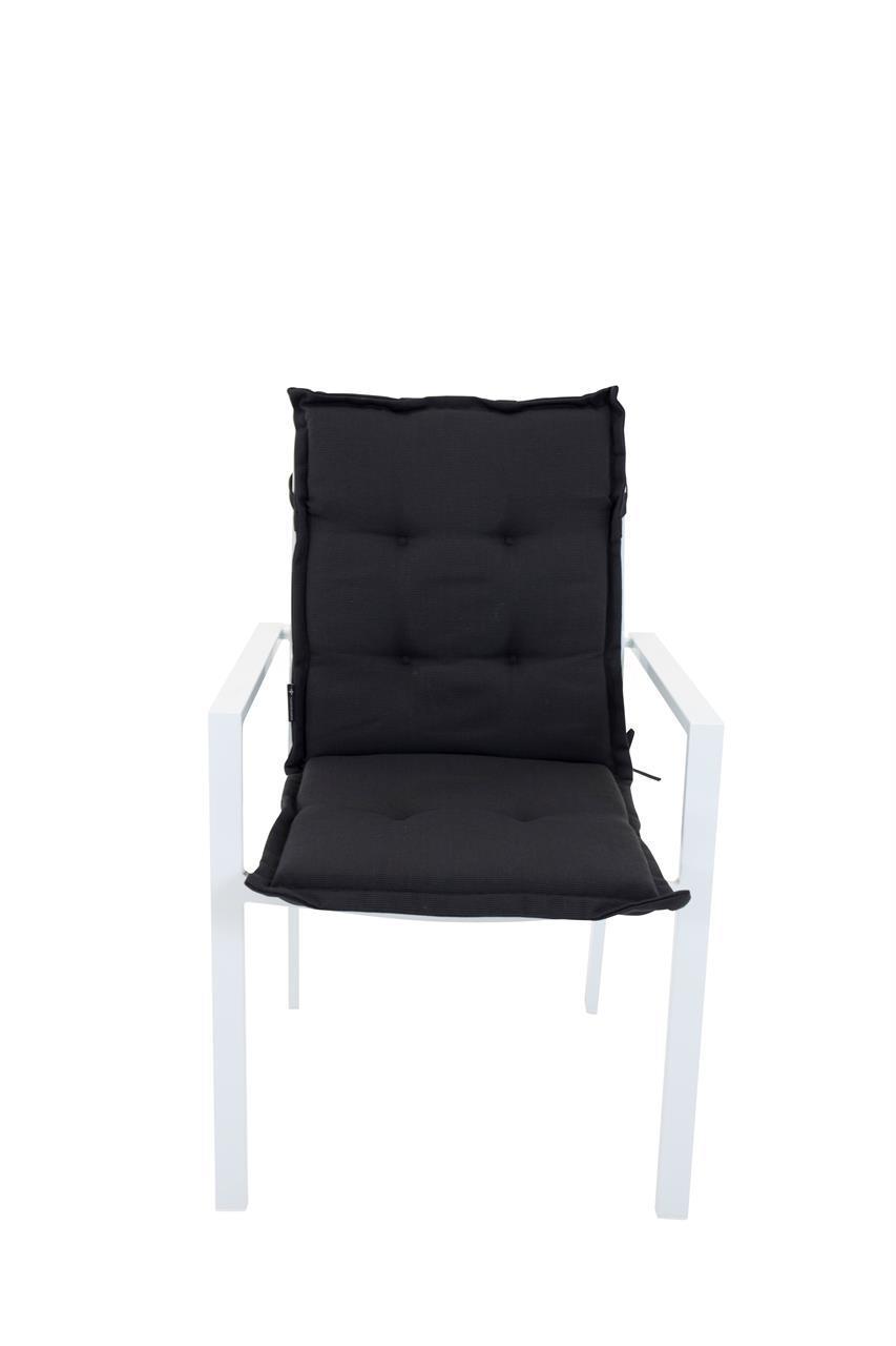Stapelstolsdyna svart