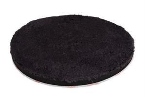 Mikrokuitulaikka, musta, viimeistely 160mm
