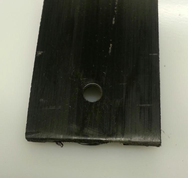 OT Jubileum glidebelegg 40 mm svart.