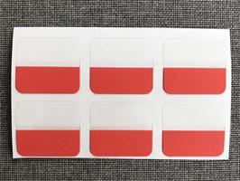 Index-etiketter 6pk Rød