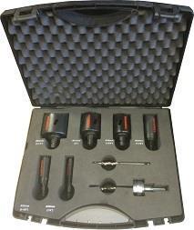 Hålsågskit MXqs - Elektriker  - Bi-metal EasyXcut M3