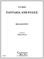 FANTASIA AND FUGUE - Brass Quintet - pdf