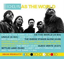 ECHOLYN: AS THE WORLD CD+DVD