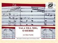 TALA TILL MIG, O HERRE