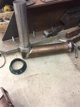 Ombyggt skorstensrör