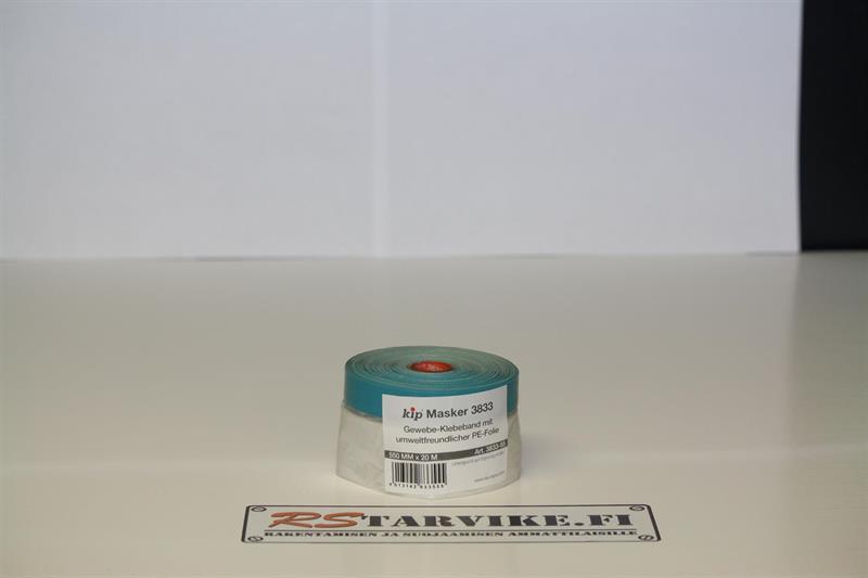 Suojamuovi kangasteipillä 550mm/20m/60rll