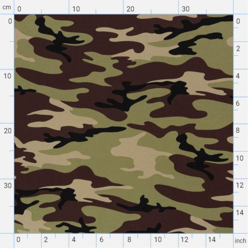 Vera jersey 104366 Camouflage, green