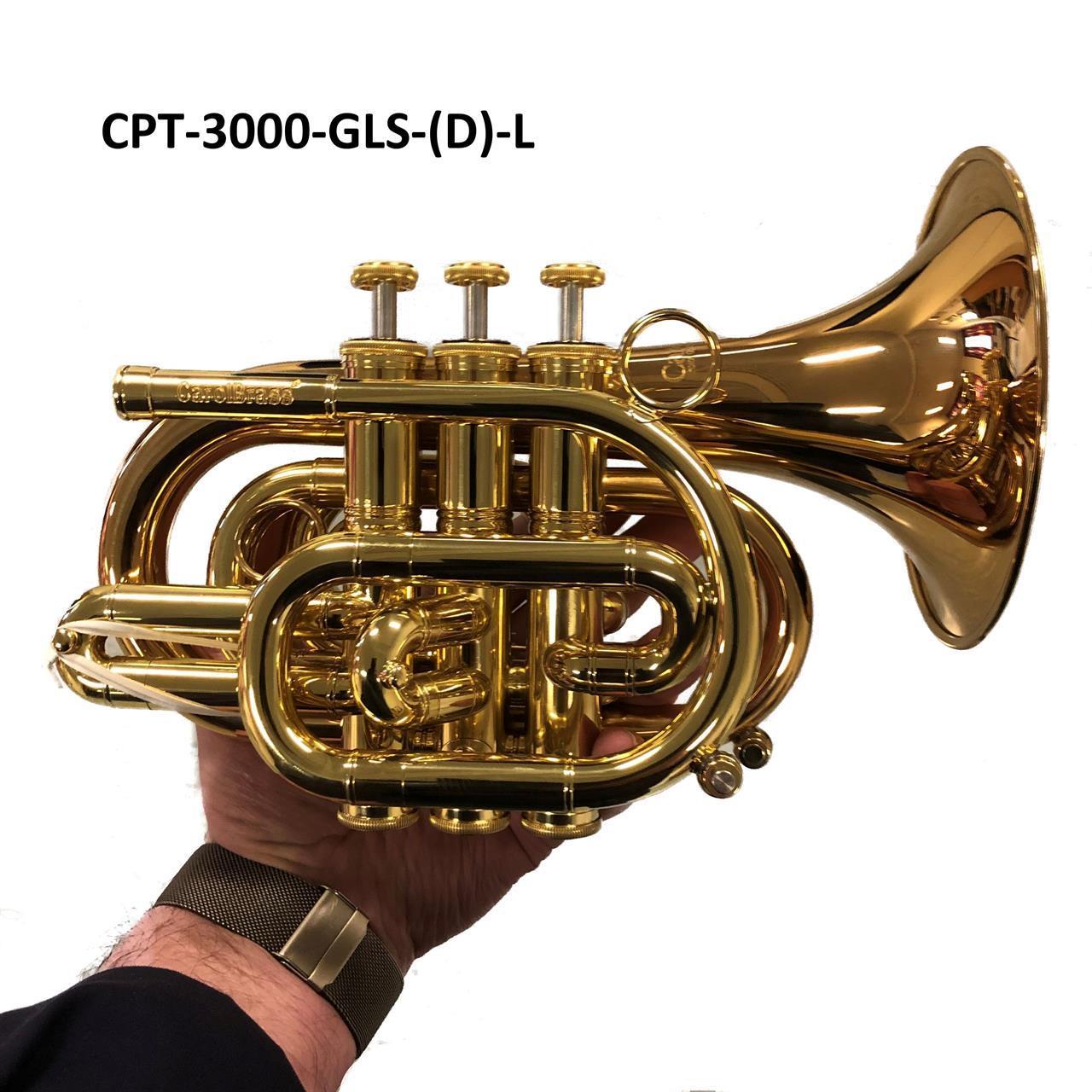 Pocket trompet CPT-3000-GLS (D)-L