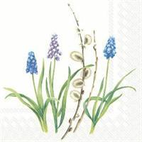 Blue Poem White