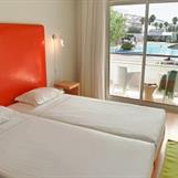 Exempel på sovrum i lägenhet för 2 pers