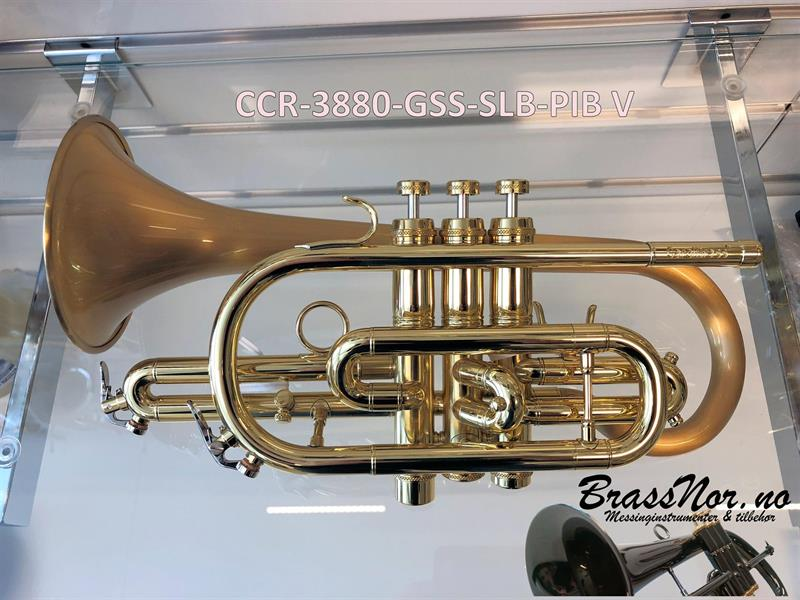 Kornett Bb CCR-3880-GSS venstre SLB