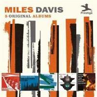DAVIS MILES: 5 ORIGINAL ALBUMS (CONCORD) 5CD