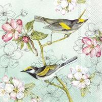 Birds Symphony Green