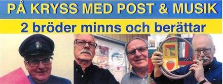 PÅ KRYSS MED POST & MUSIK