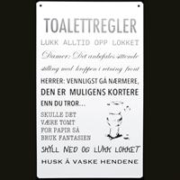 Toalettregler
