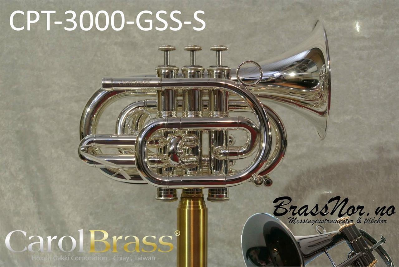Pocket trompet CPT-3000-GLS(S)