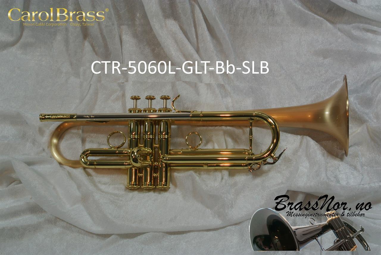 Bb trompet CTR-5060L-GLT-SLB