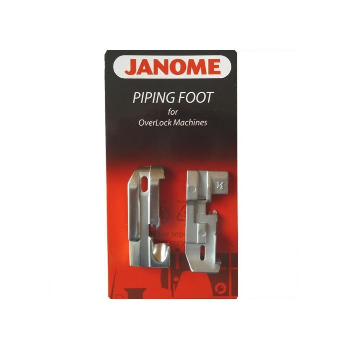 Janome Piping foot for OverLock Machines
