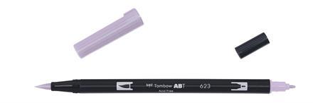 Brush Pen · Dual Brush · Pastel Lyslilla