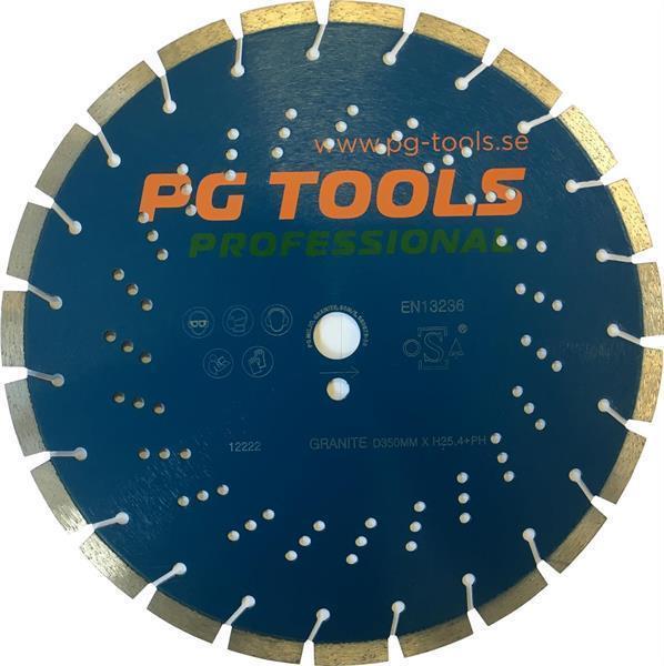 Kapskiva PGT 230mm granit