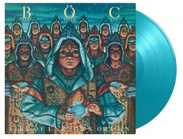 BLUE ÖYSTER CULT: FIRE OF UNKNOWN ORIGIN-TURQUOISE LP